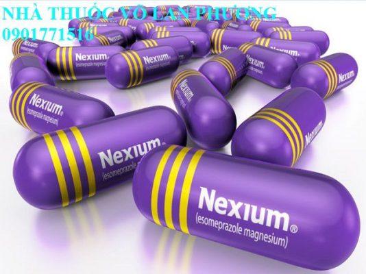 thuốc nexium 20mg 40mg mups esomeprazole điều trị bệnh trào ngược dạ dày, thực quản giá bao nhiêu?(1)