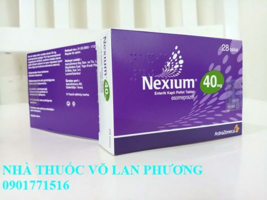 thuốc nexium 20mg 40mg mups điều trị bệnh trào ngược dạ dày, thực quản giá bao nhiêu?(2)