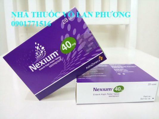 thuốc nexium 20mg 40mg mups esomeprazole điều trị bệnh trào ngược dạ dày, thực quản giá bao nhiêu(5)