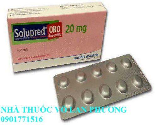 thuốc solupred 20 mg điều trị bệnh viêm khớp, viêm da, dị ứng giá bao nhiêu(1)