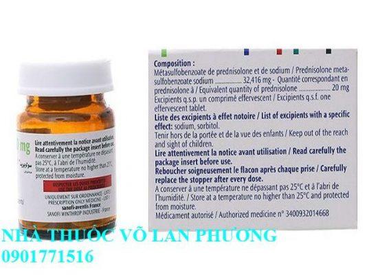 thuốc solupred 20 mg điều trị bệnh viêm khớp, viêm da, dị ứng giá bao nhiêu(5)