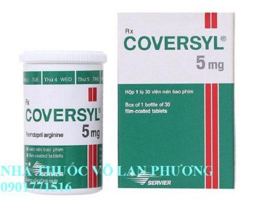 thuốc coversyl 5mg perindopril arginine điều trị tăng huyết áp giá bao nhiêu(1)