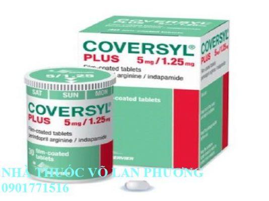 thuốc coversyl 5mg perindopril arginine điều trị tăng huyết áp giá bao nhiêu(5)