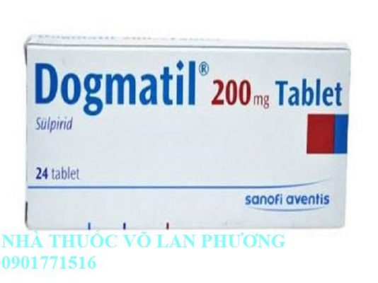 Cẩn trọng khi dùng thuốc Dogmatil