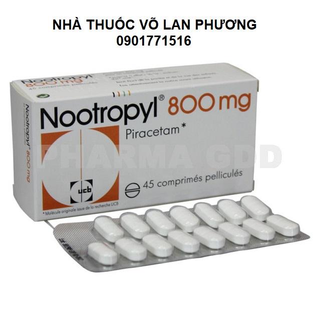 Thuốc piracetam điều trị rối loạn trí nhớ (1)