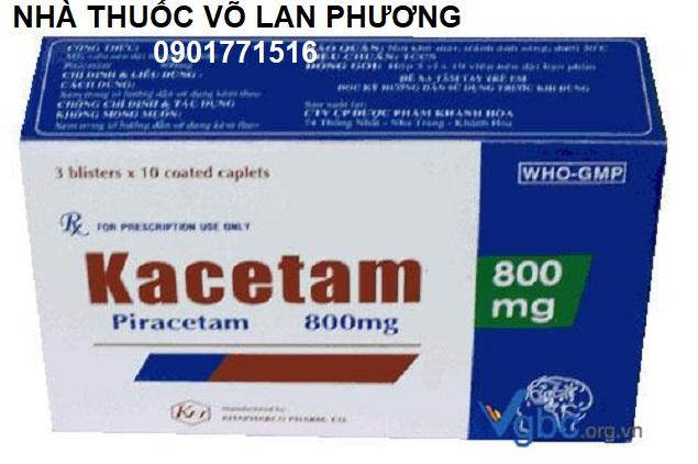 Thuốc piracetam điều trị rối loạn trí nhớ (2)