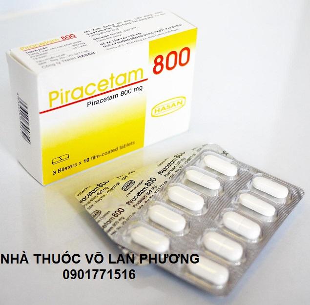 Thuốc piracetam điều trị rối loạn trí nhớ (3)