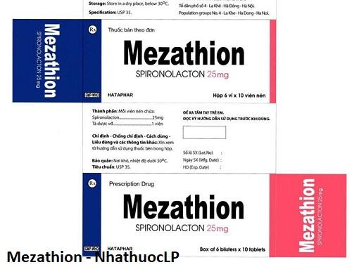 Mezathion - NhathuocLP
